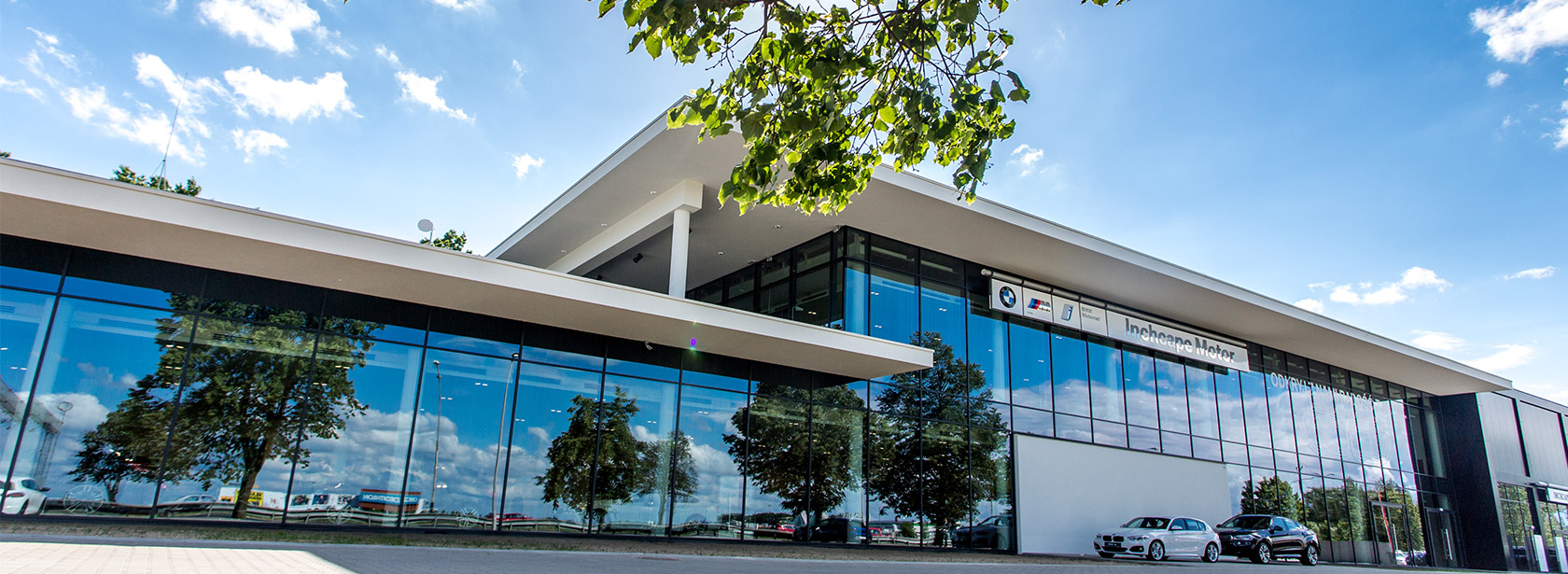 Dealer BMW Inchcape Poznań. Salon.